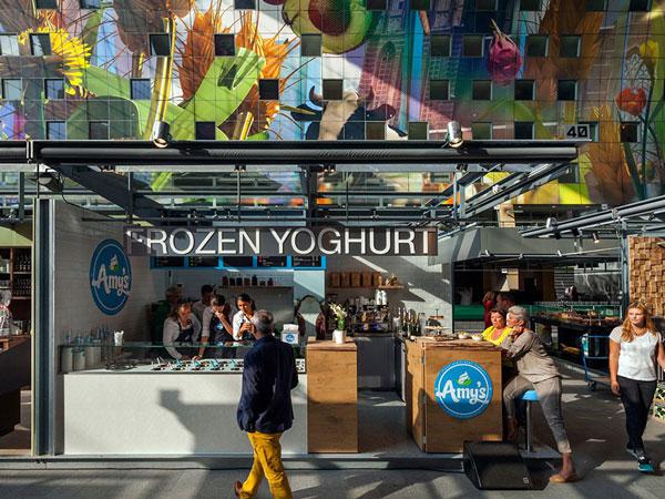 perierga.gr - Αγορά στο Ρότερνταμ εντυπωσιάζει με την τεράστια τοιχογραφία της!