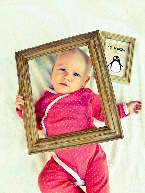 perierga.gr - Δημιουργική μαμά φωτογραφίζει την κόρη της... αλλιώς!