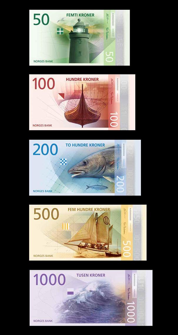 perierga.gr - Έτσι θα είναι τα χαρτονομίσματα της Νορβηγίας το 2017!