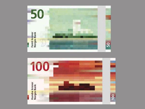 Έτσι θα είναι τα χαρτονομίσματα της Νορβηγίας το 2017!