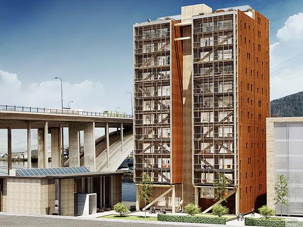 perierga.gr - Treet: Το ψηλότερο ξύλινο κτήριο στον κόσμο!