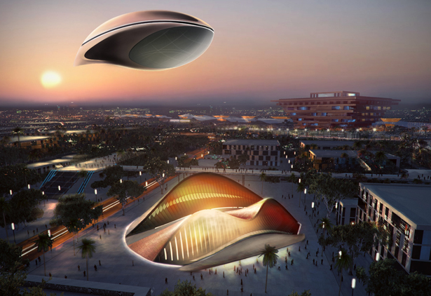 perierga.gr - Φουτουριστικό αερόπλοιο... επιπλέει στον αέρα σαν σύννεφο!