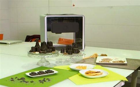 Perierga.gr - Μαγειρικός εκτυπωτής δίνει νέα... διάσταση στο φαγητό!