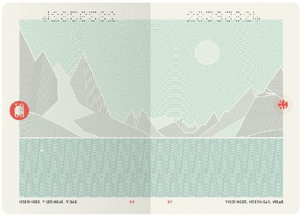 Perierga.gr - Το εντυπωσιακό νέο διαβατήριο της Νορβηγίας
