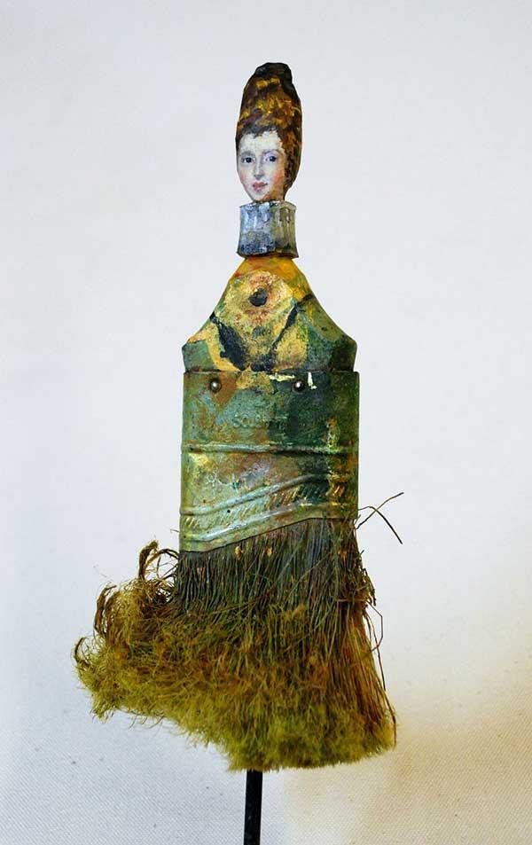 perierga.gr - Πινέλα μετατρέπονται σε έργα τέχνης!