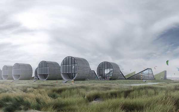 perierga.gr - Σπίτια σε σχήμα κυλίνδρου!