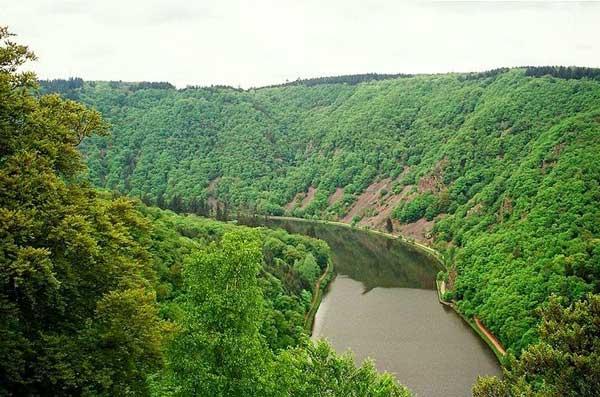 "perierga.gr - Saar Loop: Η ""φουρκέτα"" του ποταμού Σάαρ!"