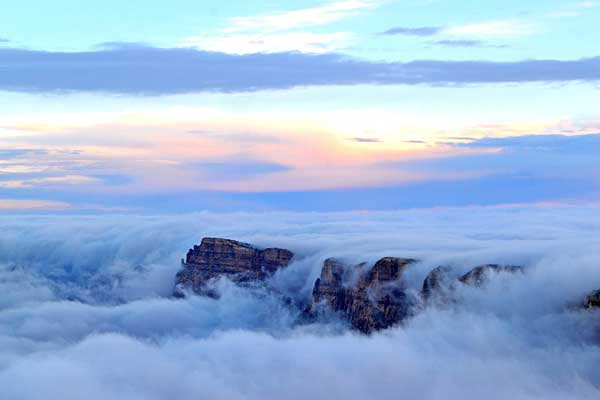 "perierga.gr - Το Grand Canyon ""πλημμύρισε"" σύννεφα!"