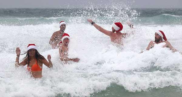 perierga.gr - Εκεί που γιορτάζουν τα Χριστούγεννα με... καλοκαίρι!