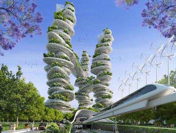 perierga.gr - Έτσι θα είναι το Παρίσι το 2050!
