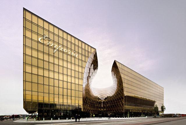 perierga.gr - Εμπορικό κέντρο μοιάζει να... λιώνει από τον ήλιο!