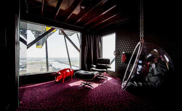 perierga.gr - Γερανός μεταμορφώθηκε σε πολυτελές ξενοδοχείο!
