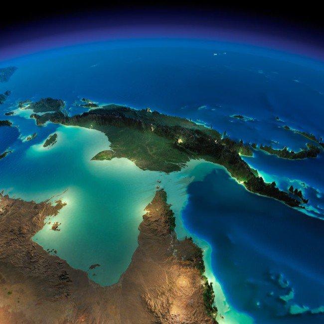 perierga.gr - Η Γη από το διάστημα τη νύχτα!