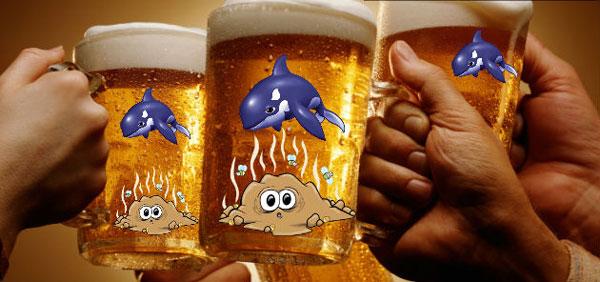 perierga.gr - Μπύρα με άρωμα... φάλαινας!
