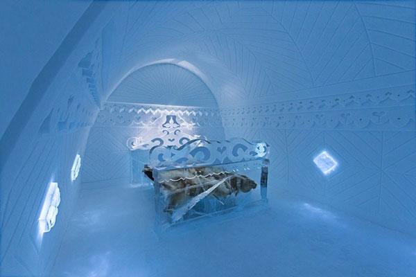 perierga.gr - Τα ολοκαίνουρια δωμάτια του Ice Hotel στη Σουηδία!