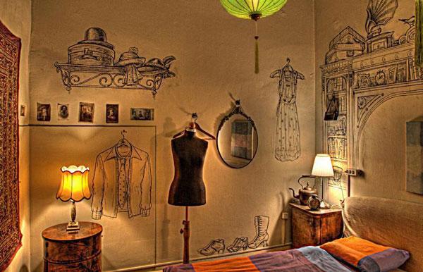 perierga.gr - Lavender Circus: Ένας κουκλίστικος (και πάμφθηνος) ξενώνας!