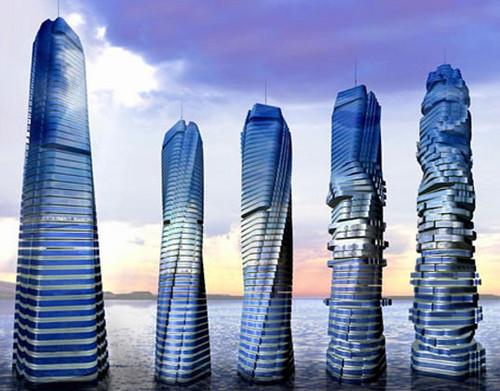 perierga.gr - Το πρώτο περιστρεφόμενο κτήριο στον κόσμο!
