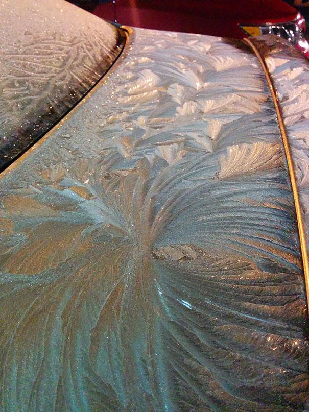 perierga.gr - Αυτοκίνητα που έγιναν έργα τέχνης από τον... πάγο!