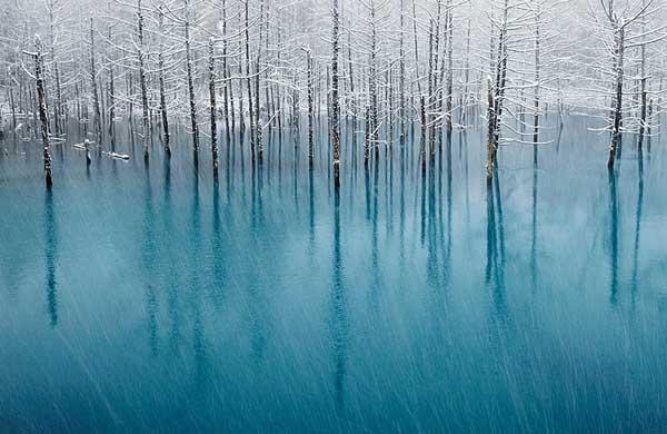 perierga.gr - Παγωμένα νερά που δημιουργούν τέχνη!