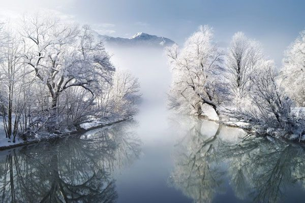 Εκπληκτικής ομορφιάς χειμωνιάτικα σκηνικά!