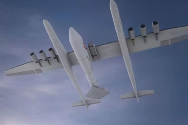Perierga.gr - Αεροπλάνο «Γολιάθ» σε αιθέρες και Διάστημα