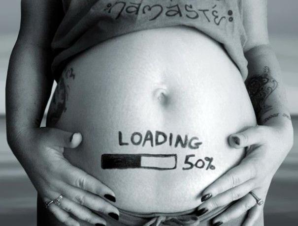 perierga.gr - Ευφάνταστες ανακοινώσεις εγκυμοσύνης!