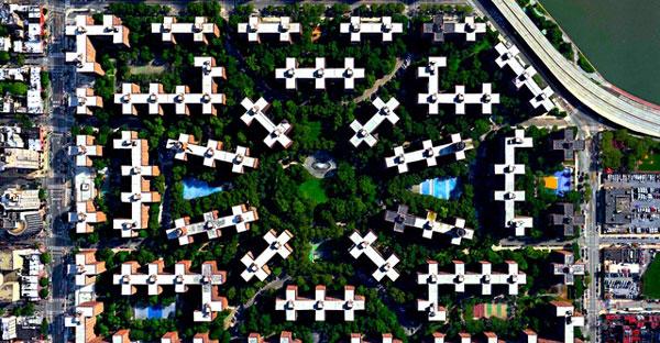 perierga.gr - Πόλεις από ψηλά είναι σαν... ζωγραφιά!