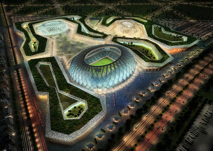 perierga.gr - Τα στάδια του Κατάρ για το Παγκόσμιο Κύπελλο του 2022!