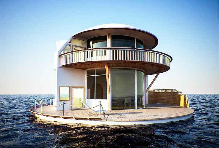 perierga.gr - Πλωτές κατοικίες εντυπωσιάζουν!