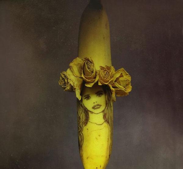 perierga.gr - Οι μπανάνες γίνονται έργα τέχνης!