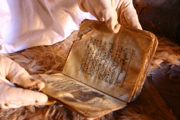 perierga.gr - Μια βιβλιοθήκη στη μέση της Σαχάρας!