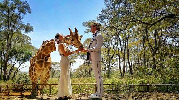 perierga.gr - Ζευγάρι παντρεύτηκε σε 38 διαφορετικά μέρη!
