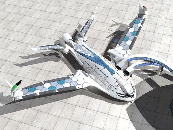 perierga.gr - Το αεροπλάνο του μέλλοντος!