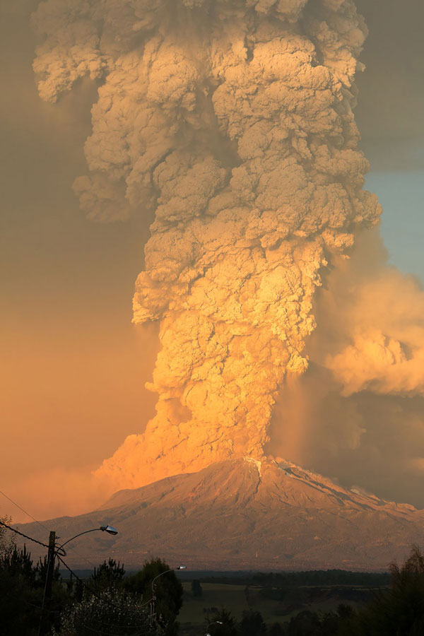 perierga.gr - Απίθανες εικόνες από έκρηξη ηφαιστείου στη Χιλή!