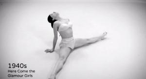perierga.gr - 100 χρόνια χορού μέσα σε 1,5 λεπτά!
