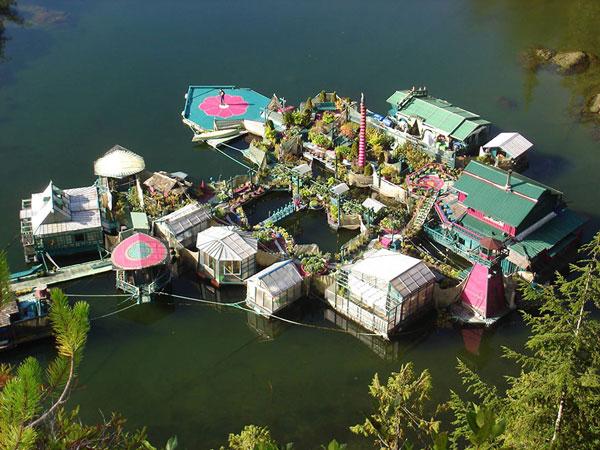 perierga.gr - Έφτιαξαν το δικό τους εξωτικό νησί!