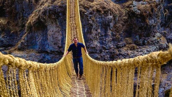 perierga.gr - Η τελευταία γέφυρα με σχοινιά των Ίνκας!