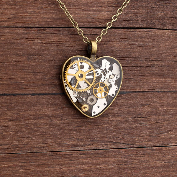 perierga.gr - Όμορφα κοσμήματα από παλιά εξαρτήματα ρολογιών!
