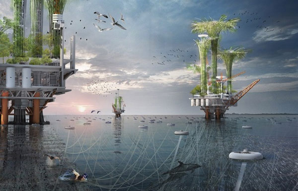 "perierga.gr - ""Πρασινίζουν"" οι πλωτές εξέδρες πετρελαίου!"