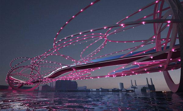 perierga.gr - Φουτουριστικές προτάσεις γεφυρών για τον Τάμεση!