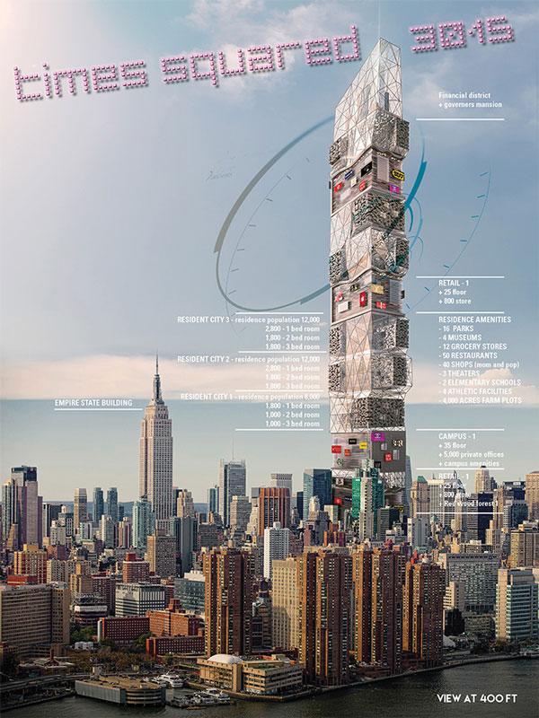 perierga.gr - Η Times Square σε έναν... ουρανοξύστη!