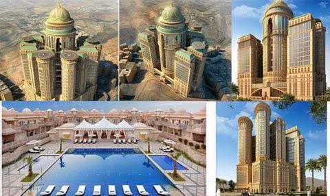 perierga.gr - Abraj Kudai: Το μεγαλύτερο ξενοδοχείο του κόσμου στο Ντουμπάι!