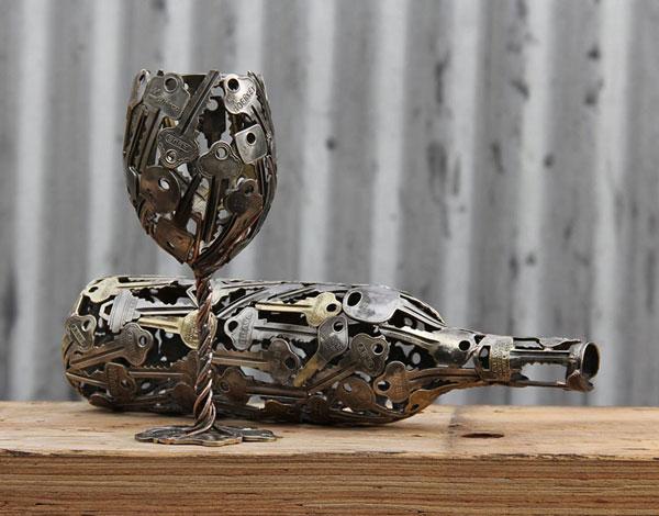 perierga.gr - Όμορφα αντικείμενα από παλιά κλειδιά!
