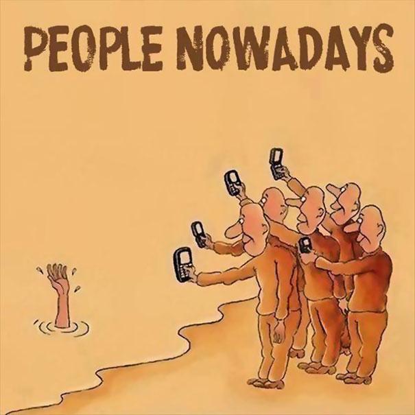 Τα κινητά τηλέφωνα έχουν κατακλύσει τη ζωή μας!