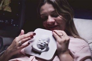 "perierga.gr - Τυφλή έγκυος ""είδε"" τον αγέννητο γιο της!"