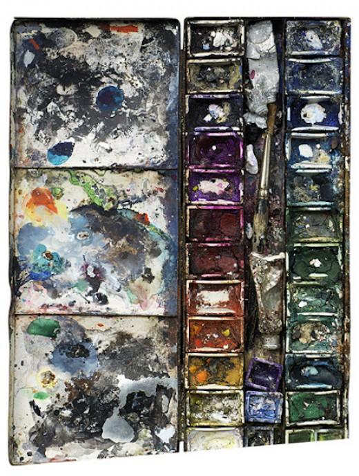 perierga.gr - Παλέτες διάσημων ζωγράφων σαν έργα τέχνης