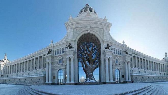 Perierga.gr - Το επιβλητικό κτήριο του ρωσικού υπουργείου γεωργίας!