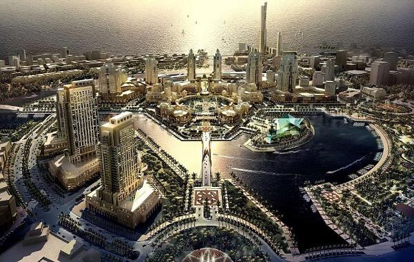 Μια πόλη 200.000 κατοίκων ξεφυτρώνει στην έρημο!