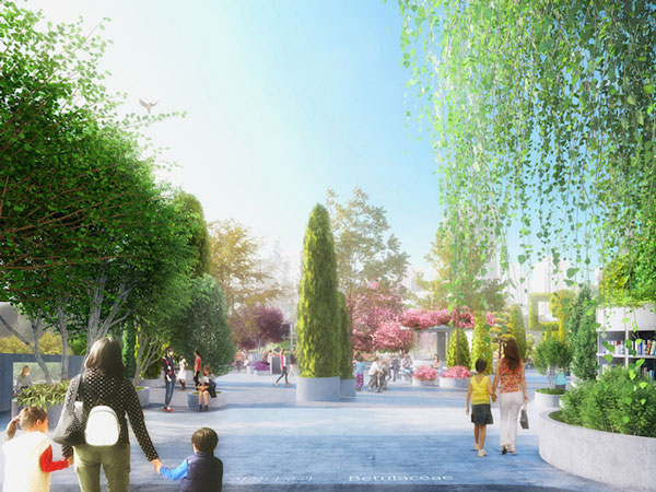 perierga.gr - Εγκαταλειμμένος αυτοκινητόδρομος γίνεται πάρκο!