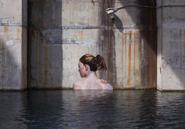 perierga.gr - Τέχνη του δρόμου σε υδάτινο σκηνικό!